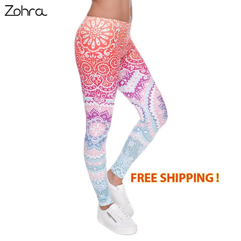 women-fashion-legging-aztec-round-ombre-