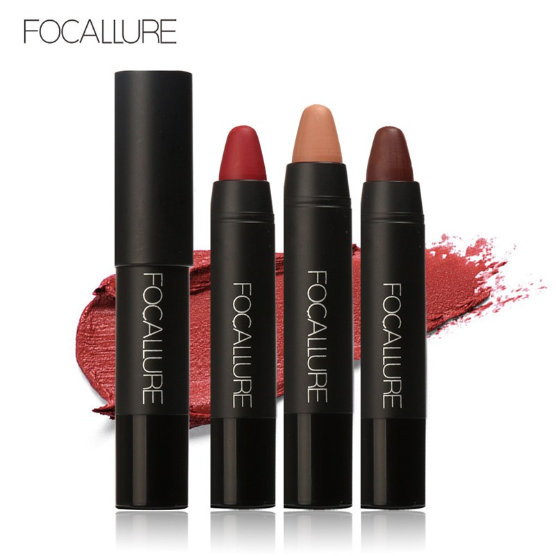 FOCALLURE™ Waterproof MATTE LIPSTICK  Nude Makeup Lips