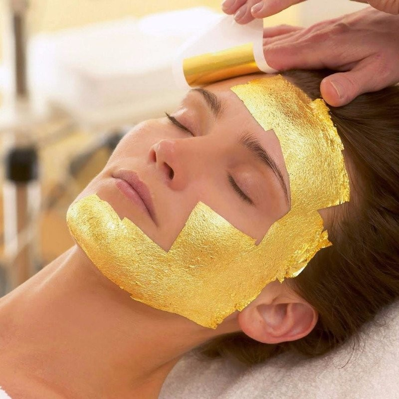 24K GOLD FOIL BEAUTY MASKS