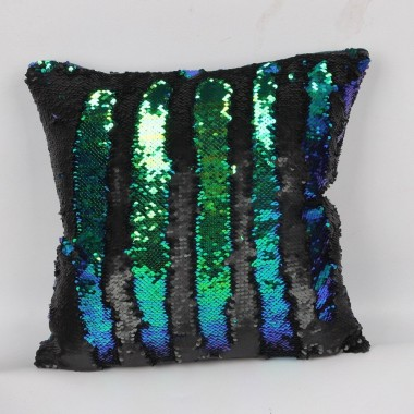 SEQUIN MERMAID FLIP PILLOW COVER