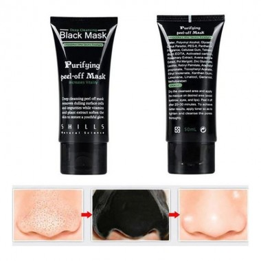 Blackhead Remove Facial Masks Deep Cleansing Purifying Peel Off Face black Mask